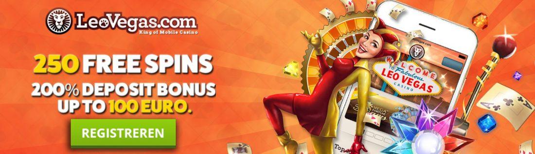 online casino registratie bonus