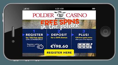 mobiel gokken polder casino